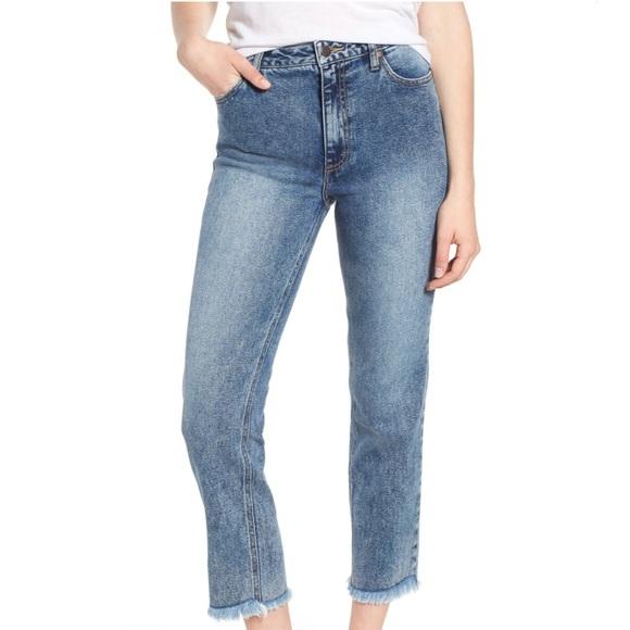 Wrangler Denim - Wrangler Acid Wash Cropped 5 Pocket Jeans 28